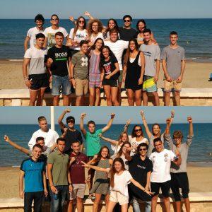 Grado LEINN valencia team building inicio curso 17-18